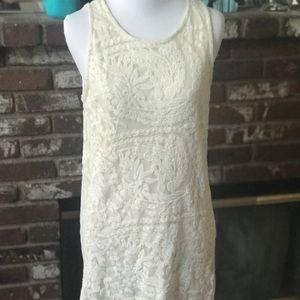 Forever 21 White Dress Sz M